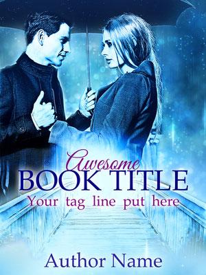 Ebook Premade Cover Nr: SPBC-24912 / 63,- € Pärchen Lovers Romance Romantisch Liebe Regen Buchcover
