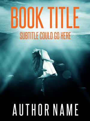 Ebook Premade Cover Nr: SPBC-47239 / 64,- € Frau Mädchen ertrinken Meer Mystery Krimi Thriller Roman See premade cover ebook drowning