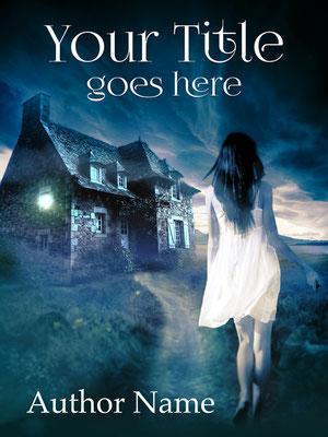 Ebook Premade Cover Nr: SPBC-33941 / 72,- € Mystery Cover Buchcover Frau Haus Romantisch Premade Romance Paranormal