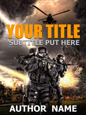 Ebook Premade Cover Nr. SPBC-30377 / 58,- € Krieg Thriller War Soldaten Waffen Invasion Schlachtfeld Buchcover premade Buch Cover Book Cover