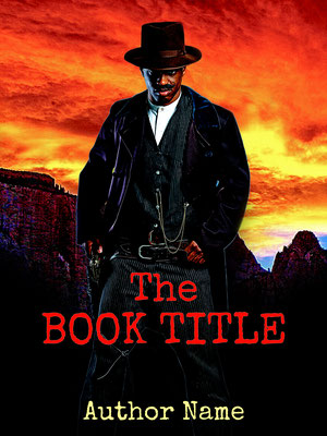 Ebook Premade Cover Nr. SPBC-25061 / 59,- € Romantik Action Thriller Western ebook premade cover Mann Revolver Buchcover bookcover