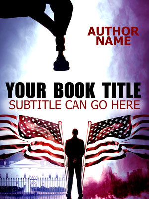 Ebook Premade Cover Nr. SPBC-33562 / 67,- € Krimi Thriller Politik Präsident USA Flagge Buchcover Bookcover Taschenbuch