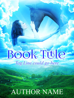 Ebook Premade Cover Nr: SPBC_40581 / 63,- € Pferd Frau Himmel Erzählung Premade Buchcover Fantasy Cover Belletristik