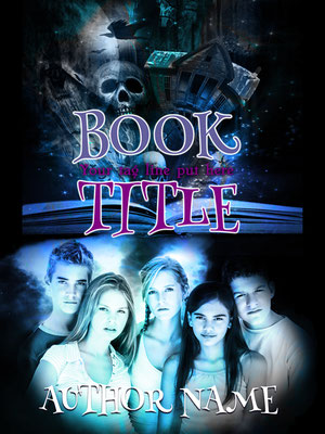 Ebook Premade Cover Nr: SPBC-23118 / 63,- € Teenager Paranormal Fantasy Magie Buchcover