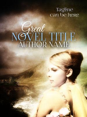 Ebook Premade Cover Nr: SPBC-27515 / 63,- € Frau Belletristik Insel Blond Mystery Mystic Buchcover