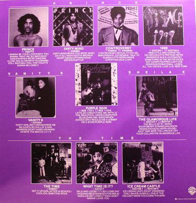 Prince - Prurple Rain / Reklame (GER 1984, WB Records / 925 110-1)