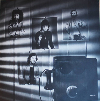 Brand X - Unorthodox Behaviour ehemalige Band von Phil Collins  (NL 1976, Charisma - 6369 977)