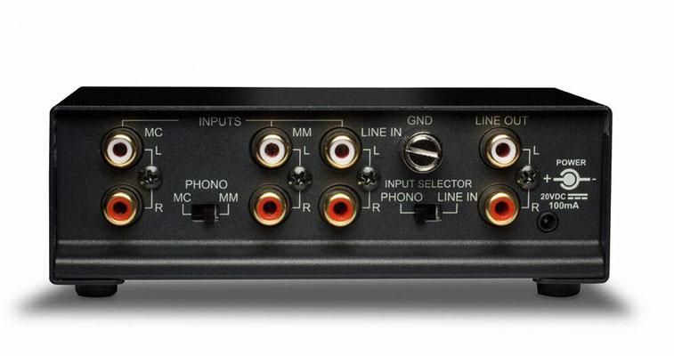 Rückseite - NAD PP-4 (160/230€)
