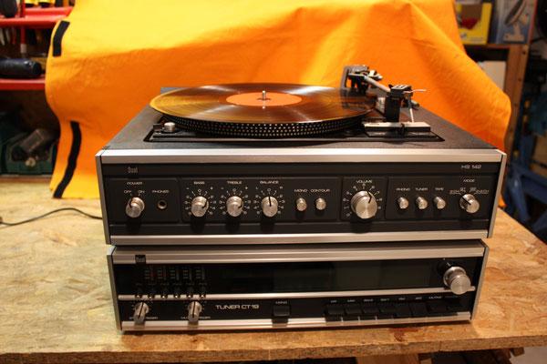 DUAL HS 142 ergänzt mit einem Dual Tuner CT 19 (bei ebay gekauft)