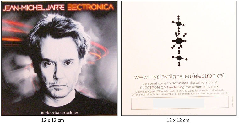 Jean Michel Jarre - ELECTRONICA - [1]  THE TIME MACHINE  (GER 2015, COLUMBIA SONY / 88843018981)