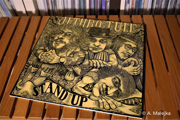 Jethro Tull - Stand Up:  Cover-Front