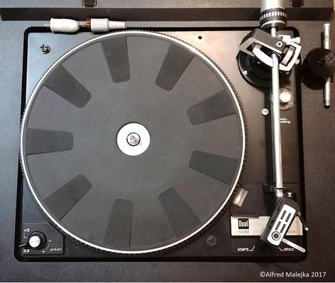 DUAL HS 142 Kompaktanlage (Plattenspieler CS 1239 + Verstärker)