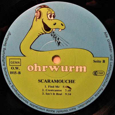 Schallplatten-Etikett (Label): Ohrwurm