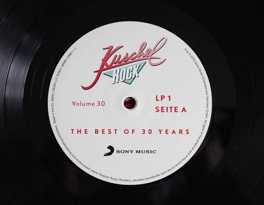 Schallplatten-Etikett (Label):