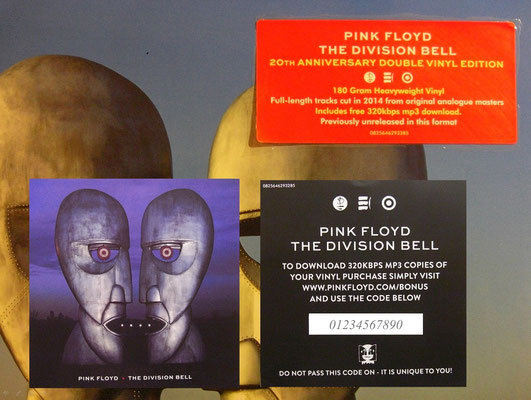 Pink Floyd - Devision Bell (GER RE 2014, 20th Anniversiary Edition, Parlophone ‎/ 0825646293285 )