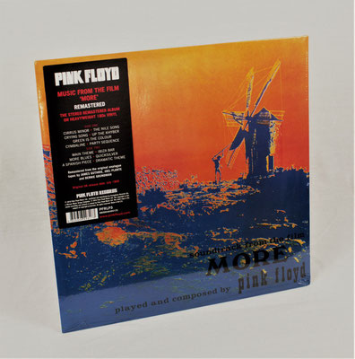 "Pink Floyd -  Soundtrack ""More"" (Reissue) in MINT, noch in Cellophanfolie verpackt"