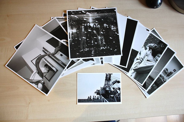 12 Karten und 1 Postkarte