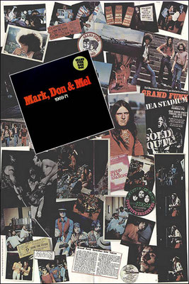 GRAND FUNK RAILROAD - MARK, DON & MEL 1969-71 (GER 1972, Capitol ‎/ 1 C 188-81 122/23)