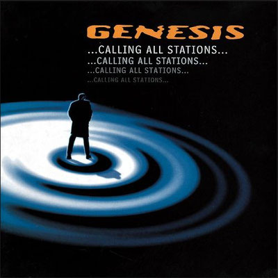 Das Cover von GENESIS - Calling All Stations (1997)