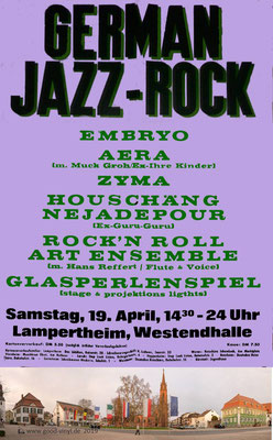 GERMAN JAZ ROCK Festival Lampertheim 1975