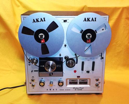 Foto: Alfred Malejka / AKAI X-150D - Front komplett