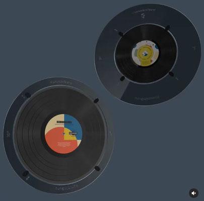 "Record Adapter 7"" and 10"" HumminGuru"