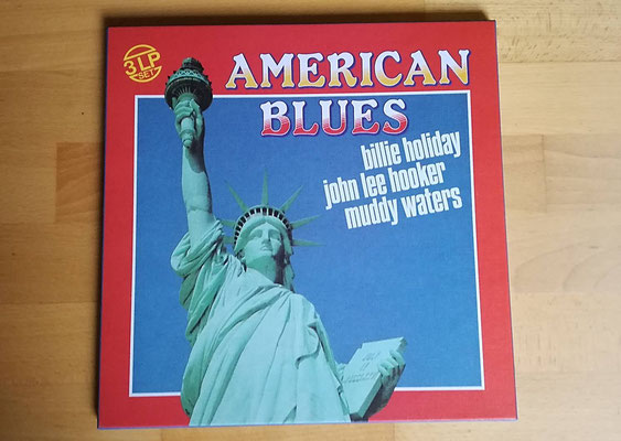V.A. - AMERICAN BLUES (CHE 1984, 3 LPs)