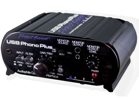 Front - Art USB Phono Plus (ca. 90€)