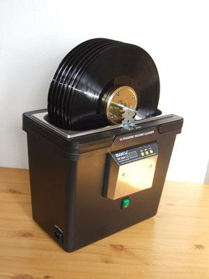 Plattenwaschmaschine mit Ultraschallreinigung