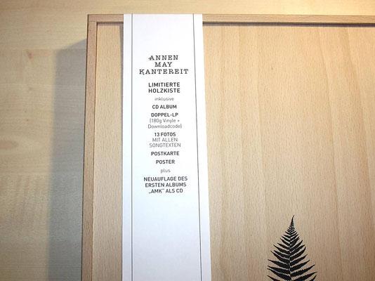 Der Papierbanner beschreibt den gesamten inhalt der Holbox