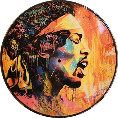 Jimi Hendrix - Purple Haze (South Afric 2017, Polydor – HE 1275)