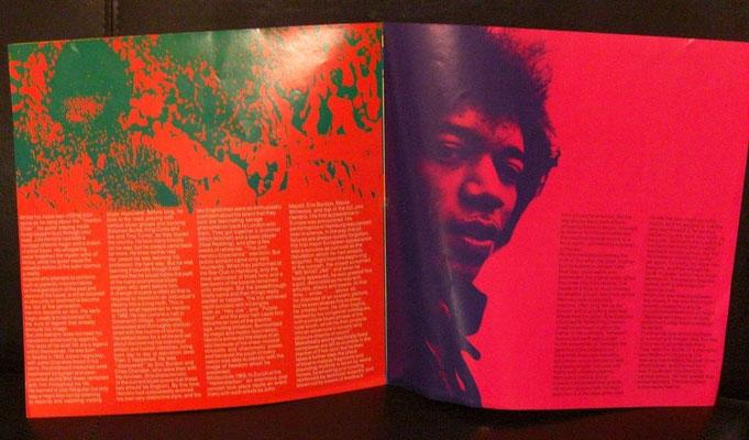 Beilage Starportrait Jimi Hendrix: Seite 4 und 5