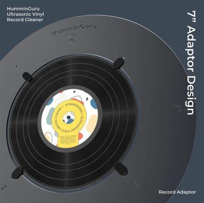 "7"" Record Adapter HumminGuru"