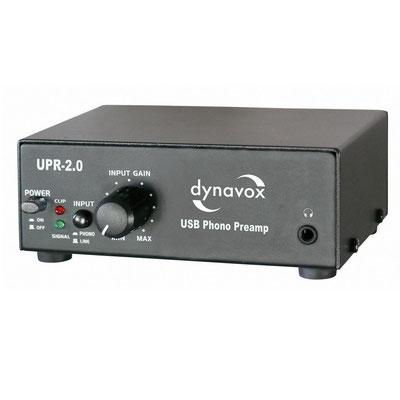 Front -DYNAVOX UPR-2.0 Phono-Vorverstärker (ca. 60€)