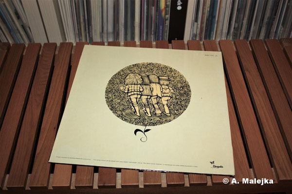 Jethro Tull - Stand Up:  Cover-Rückseite
