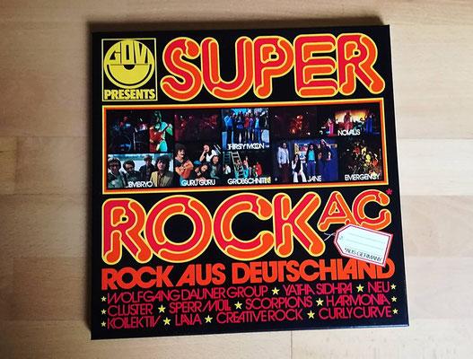 V.A. - SUPER ROCK AG (GER 1974, Beiblatt, 3 LPs)