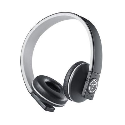 Bluetooth Kopfhörer zur akustischen Bewertung der Schallplatte