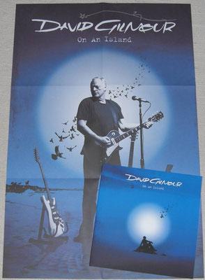 David Gilmour - On An Island  ( EU 2015 - Parlophone /  0946 3 55695 1 3)