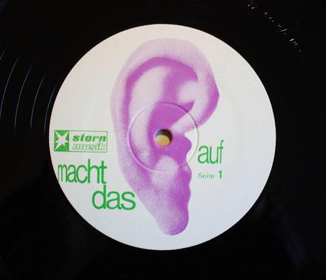 Schallplatten-Etikett (Label): Ohr