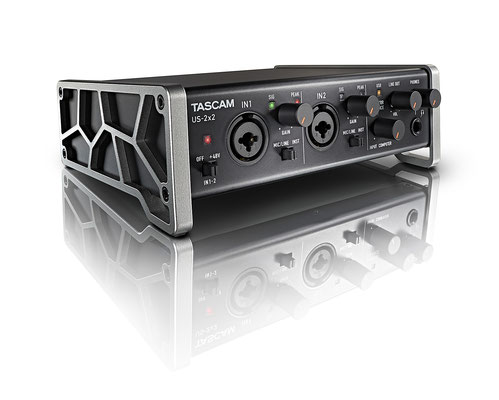 Front - Tascam US-2x2