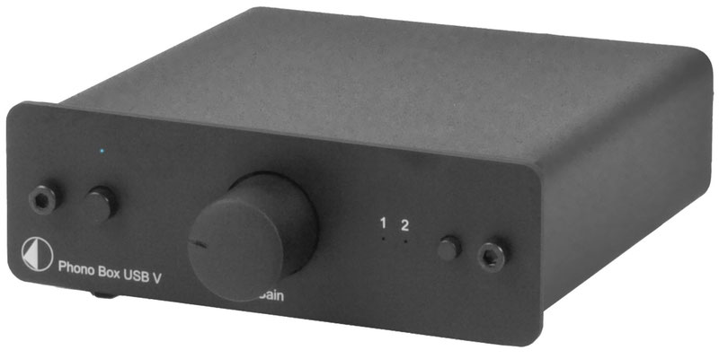 Front - Pro-Ject Phono Box USB  (ca. 165€)