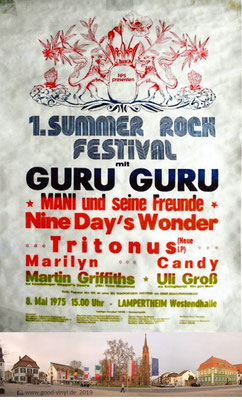 Sommer Rock Festival Lampertheim 1975