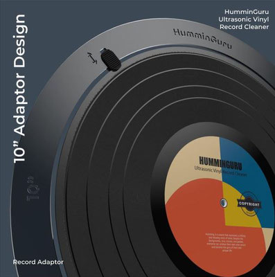 "10"" Record Adapter HumminGuru"