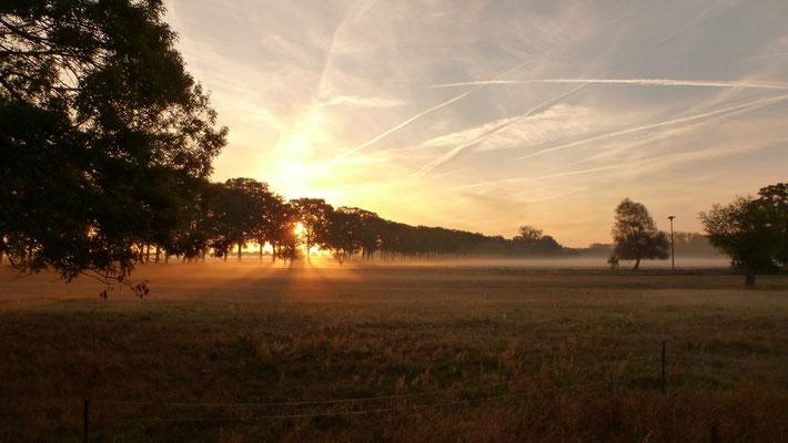 Sonnenaufgang in Unbesandten
