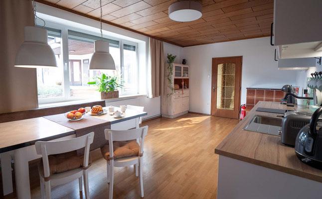 Küche Gästezimmer Eminger