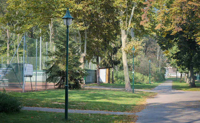 Schlosspark Tennisplätze schönkirchen reyersdorf