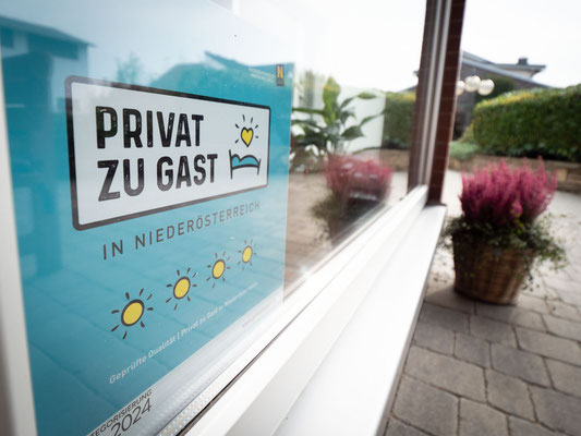 Privat zu Gast in Niederösterreich 4 Sonnen