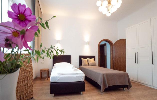 Schlafzimmer Eminger Schönkirchen Unterkunft