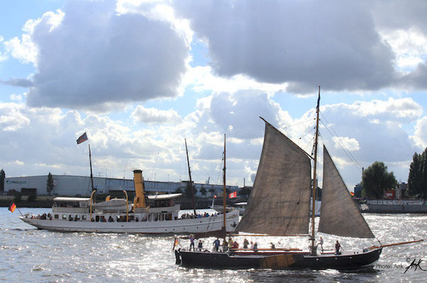 _ahoi in tradition_ Hamburg Hafen, Foto: (c)Ank 9/2015