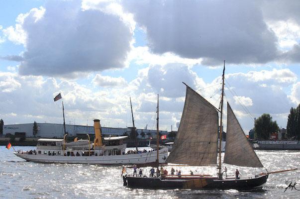 _ahoi in tradition_ Hamburg Hafen, Foto: (c)Ank 9/2015